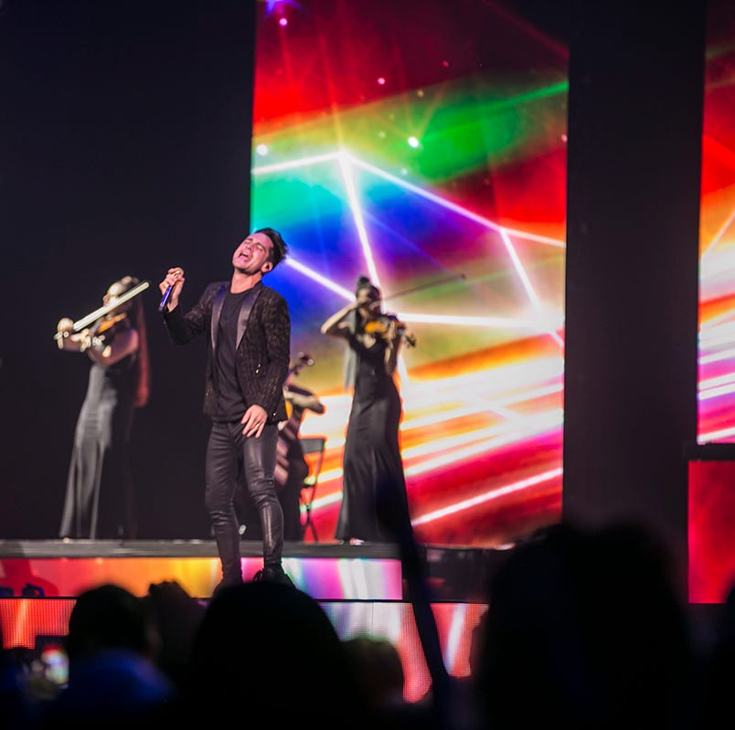Panic! at the Disco play Phoenix, where Brendon Urie channels Freddie Mercury