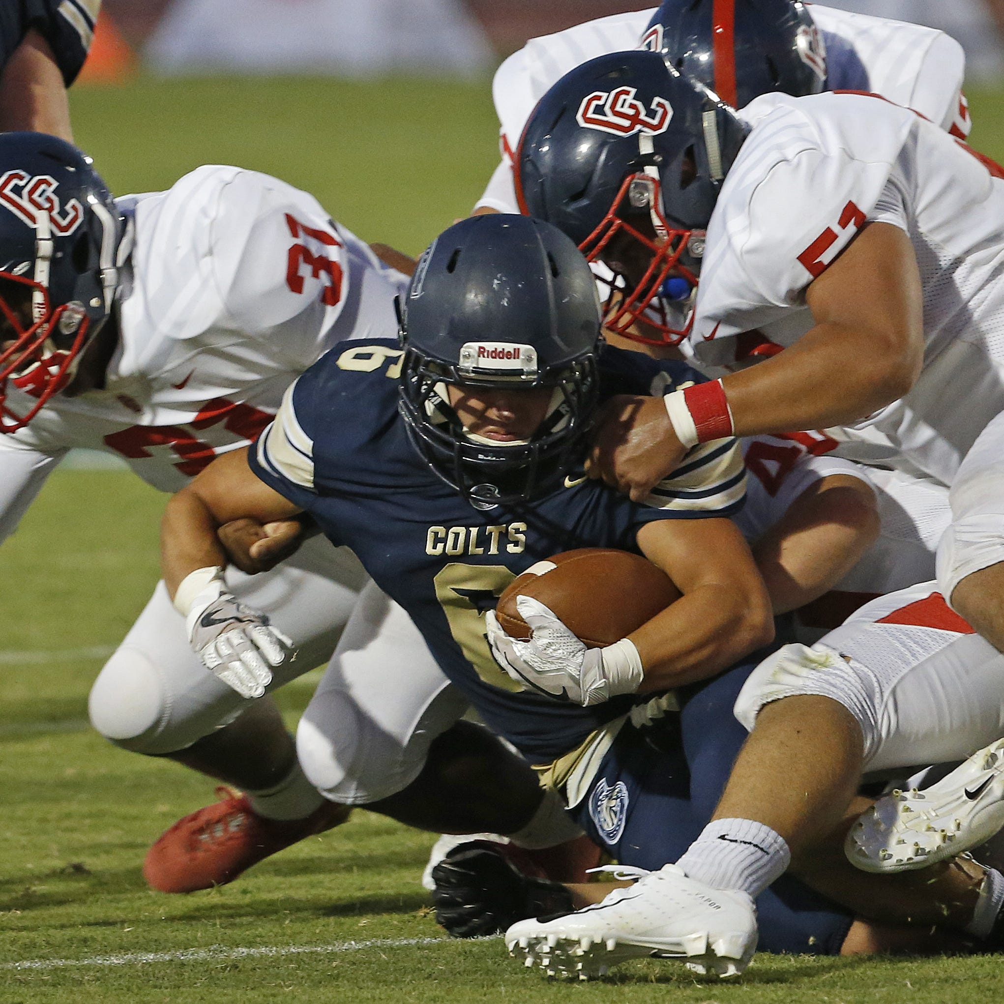 Centennial gives Casteel a rude welcome to big-school football