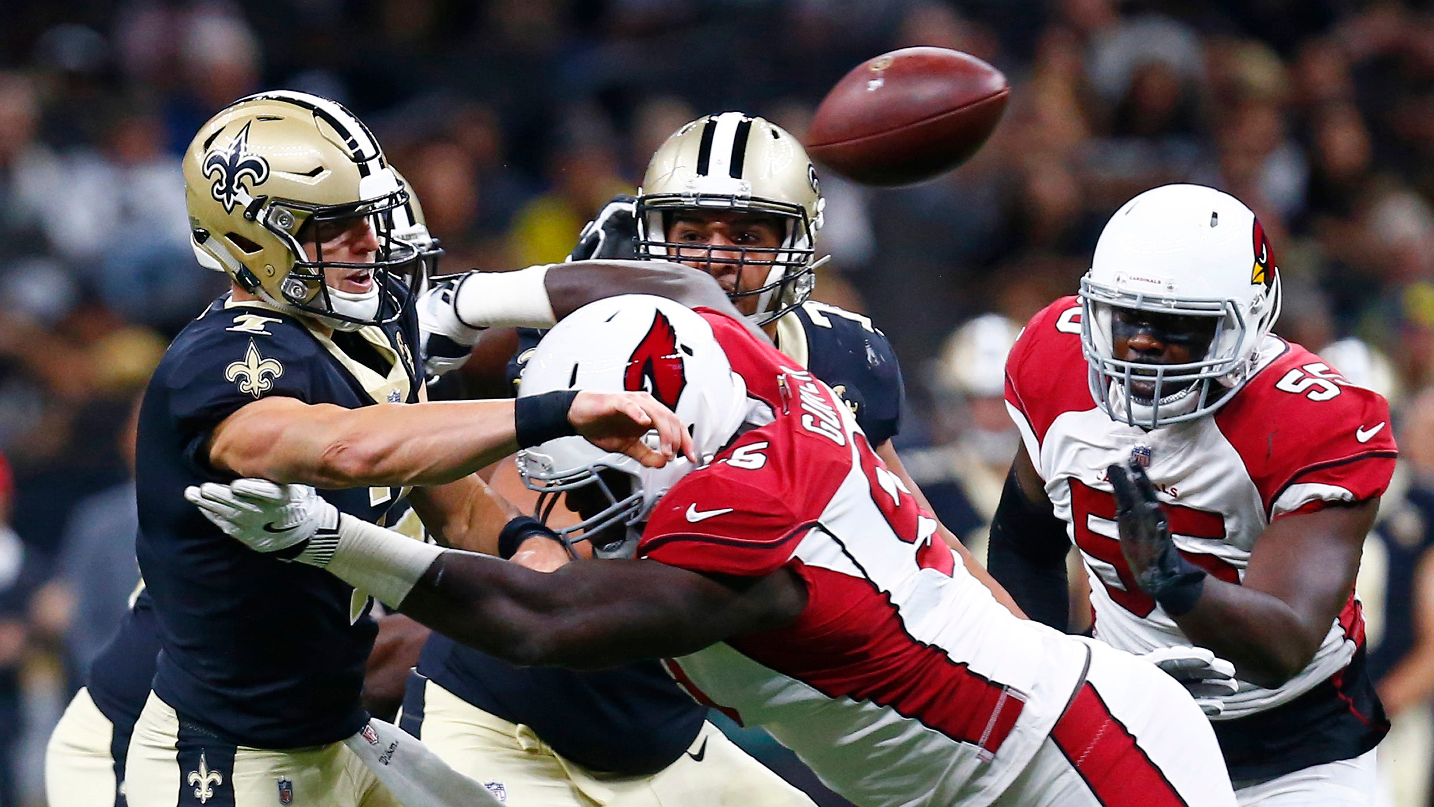 "Saints ""sloppy"" on offense in 20-15 loss to Arizona as QB Taysom Hill commits 4 turnovers"