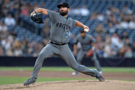 Mlb Arizona Diamondbacks At San Diego Padres