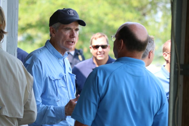 Senator Rob Portman, R-Ohio, has supported the full $300 million in federal funding for the Great Lakes Restoration Initiative.