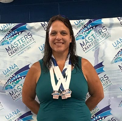 Marysville swim coach Julie Rogers places in top 10 at Pan American Games