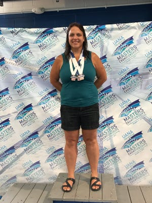 Marysville coach Julie Rogers placed in the top 10 of four events at the Pan American Games.