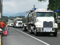 Big rigs and bikes go on parade for Make-A-Wish kids in Chambersburg