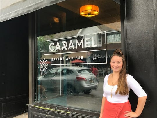 Haley Shuman, 27, of Penfield, will open Caramel Bakery and Bar on Park Avenue in mid-September with boyfriend Mark Mendola, 28.