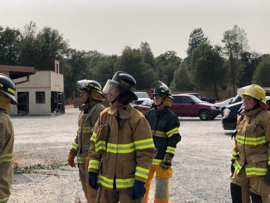 Fire program at Shasta College