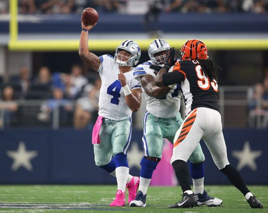 Nfl Cincinnati Bengals At Dallas Cowboys