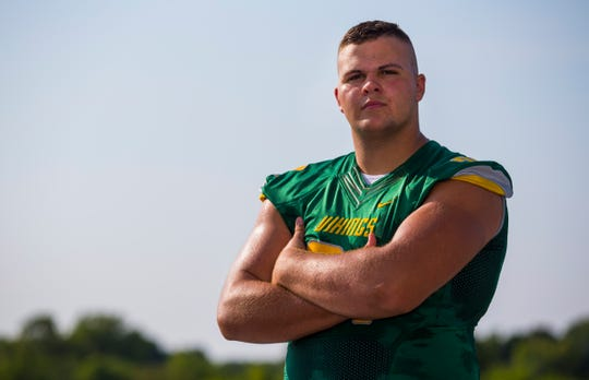 At 6-foot-6 and 316-pound, Parkview offensive lineman Ethan Day has caught the eye of a number of colleges heading into his senior season.
