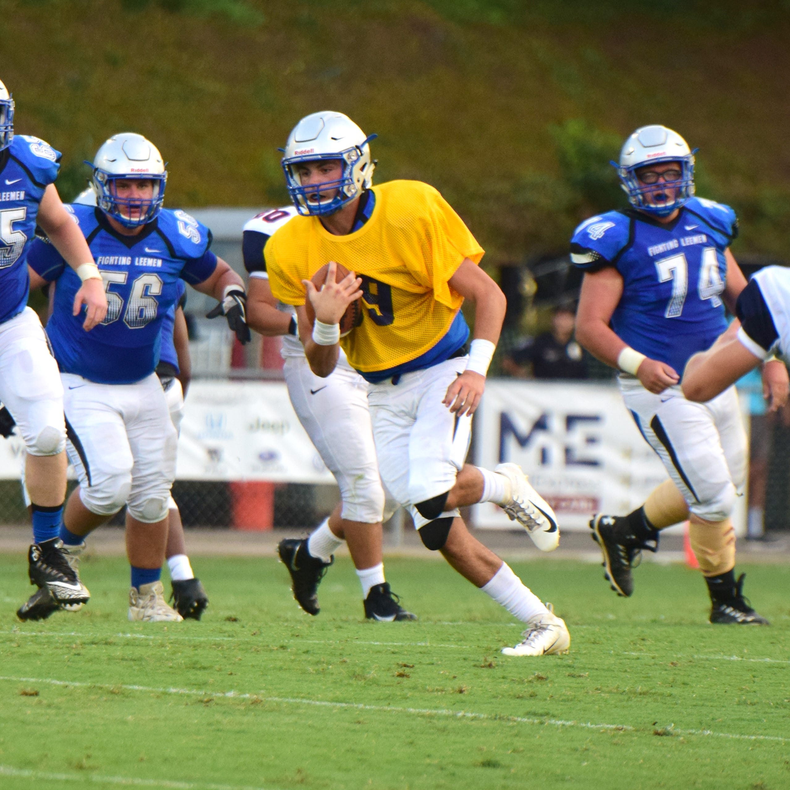 Dod, Leemen show improvement in tough scrimmage with Harrisonburg