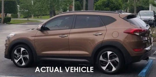 Missing woman's car