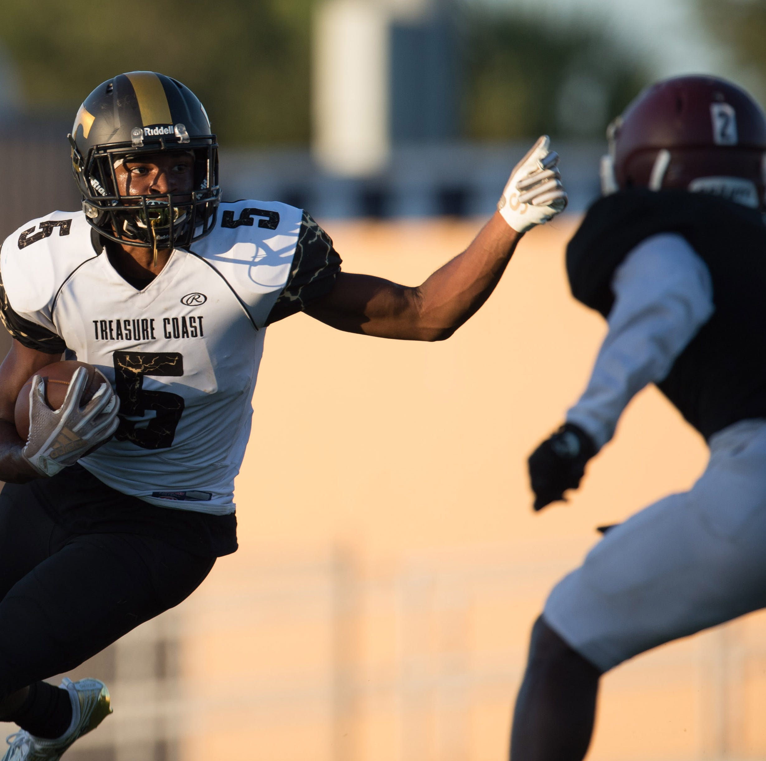 Preseason football: Run game powers Treasure Coast