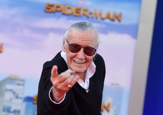 "In this June 28, 2017, file photo, Stan Lee arrives at the Los Angeles premiere of ""Spider-Man: Homecoming"" at the TCL Chinese Theatre. Lee's restraining order against a former business manager has been extended for three years."