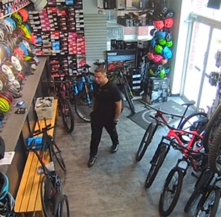 Piermont PD releases security footage of bike-theft suspect