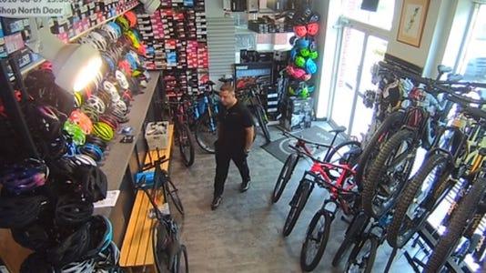 Piermont bike theft