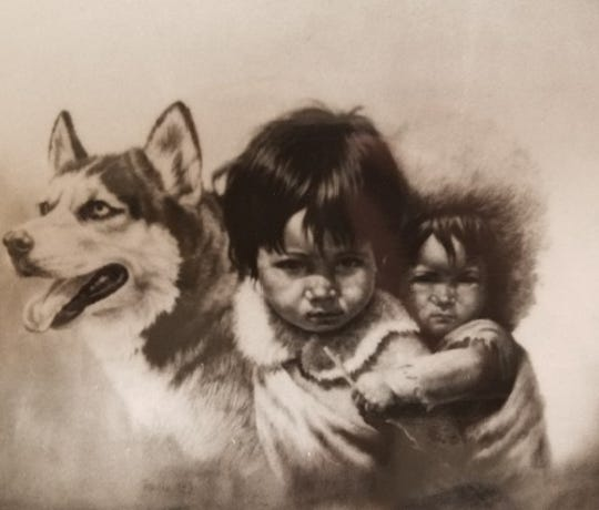 A work by artist Gregory Perillo, stolen 35 years ago in New York City.
