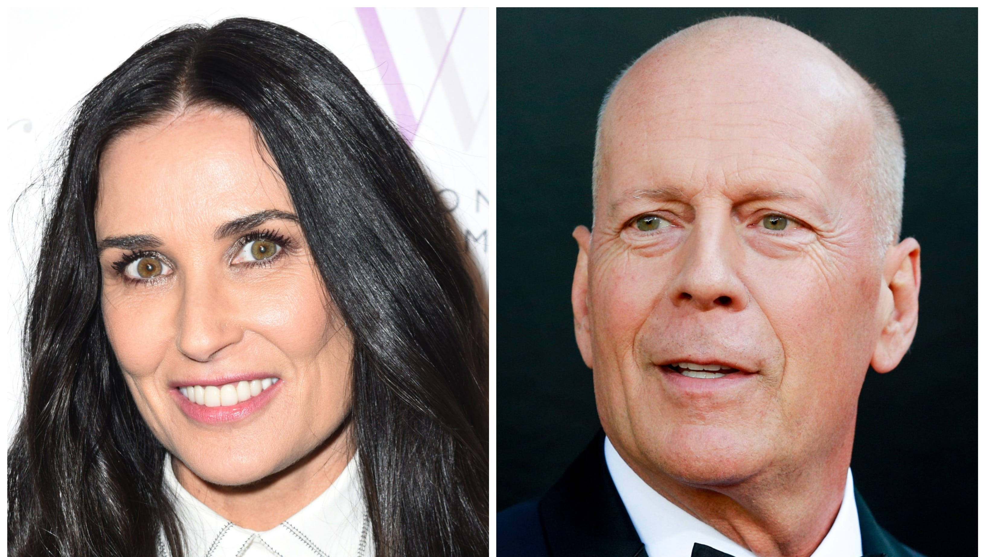 Demi Moore and Bruce Willis