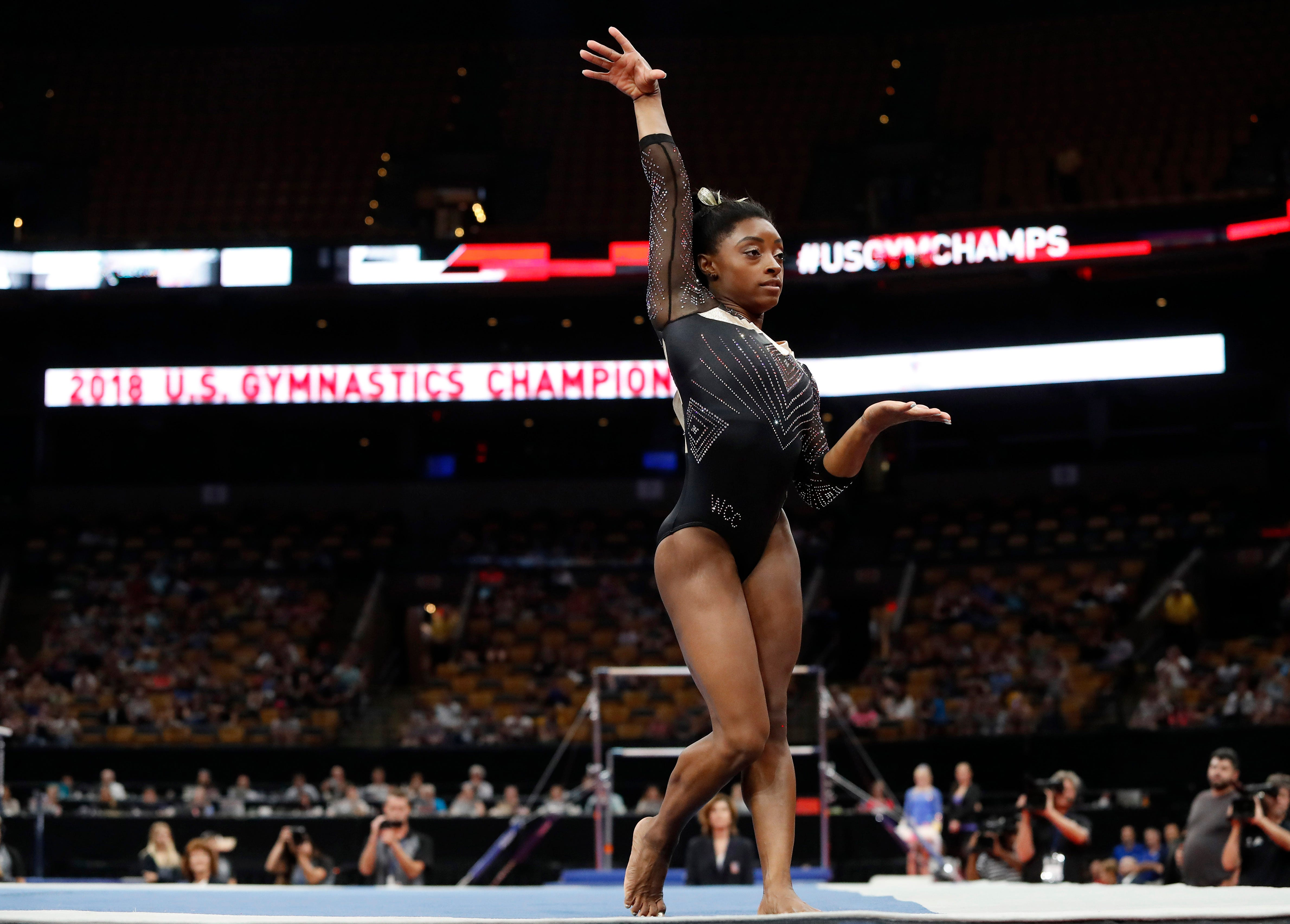 In least-surprising news ever, Simone Biles makes team for world gymnastics championships