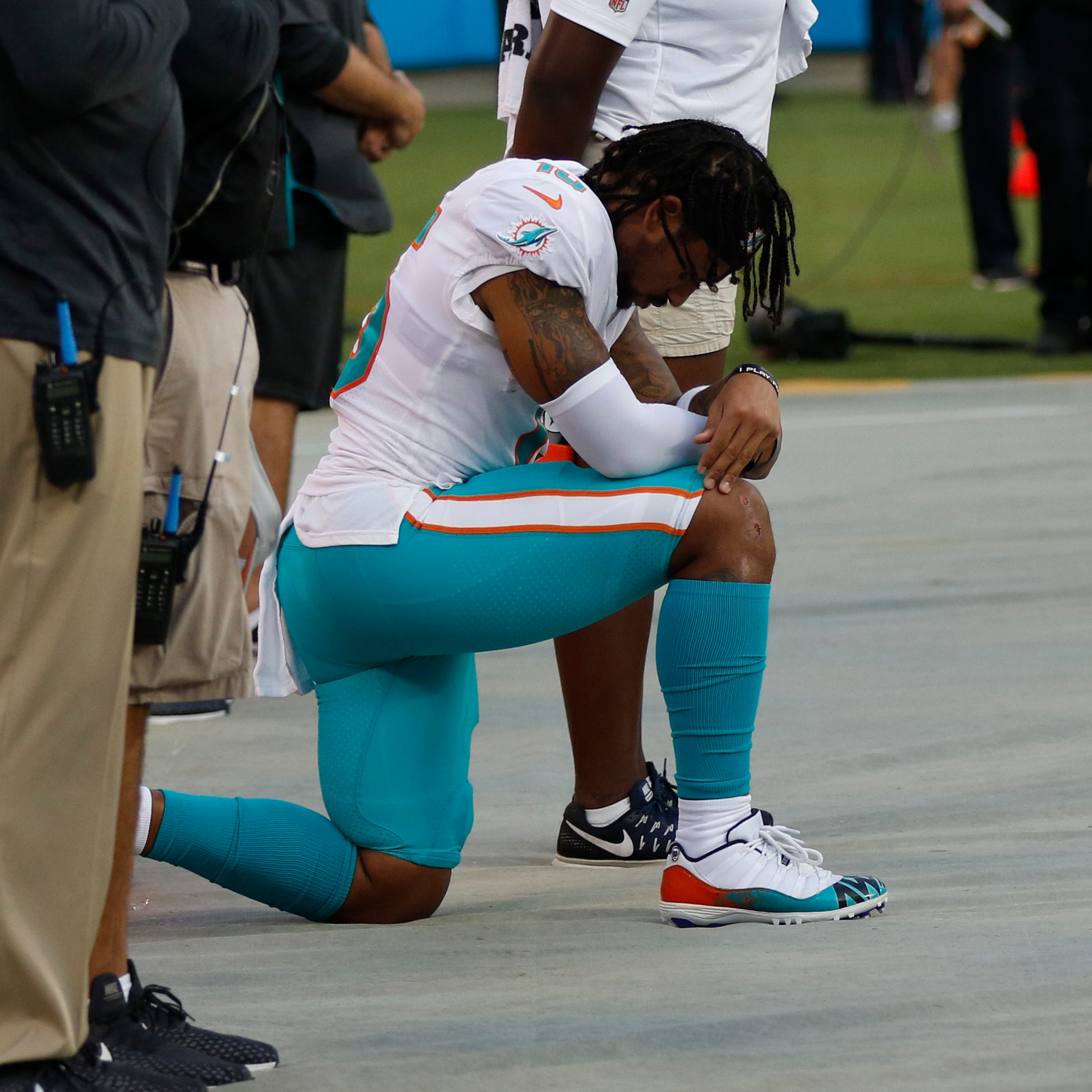Anthem protests dwindle; strong reactions don't: Letter
