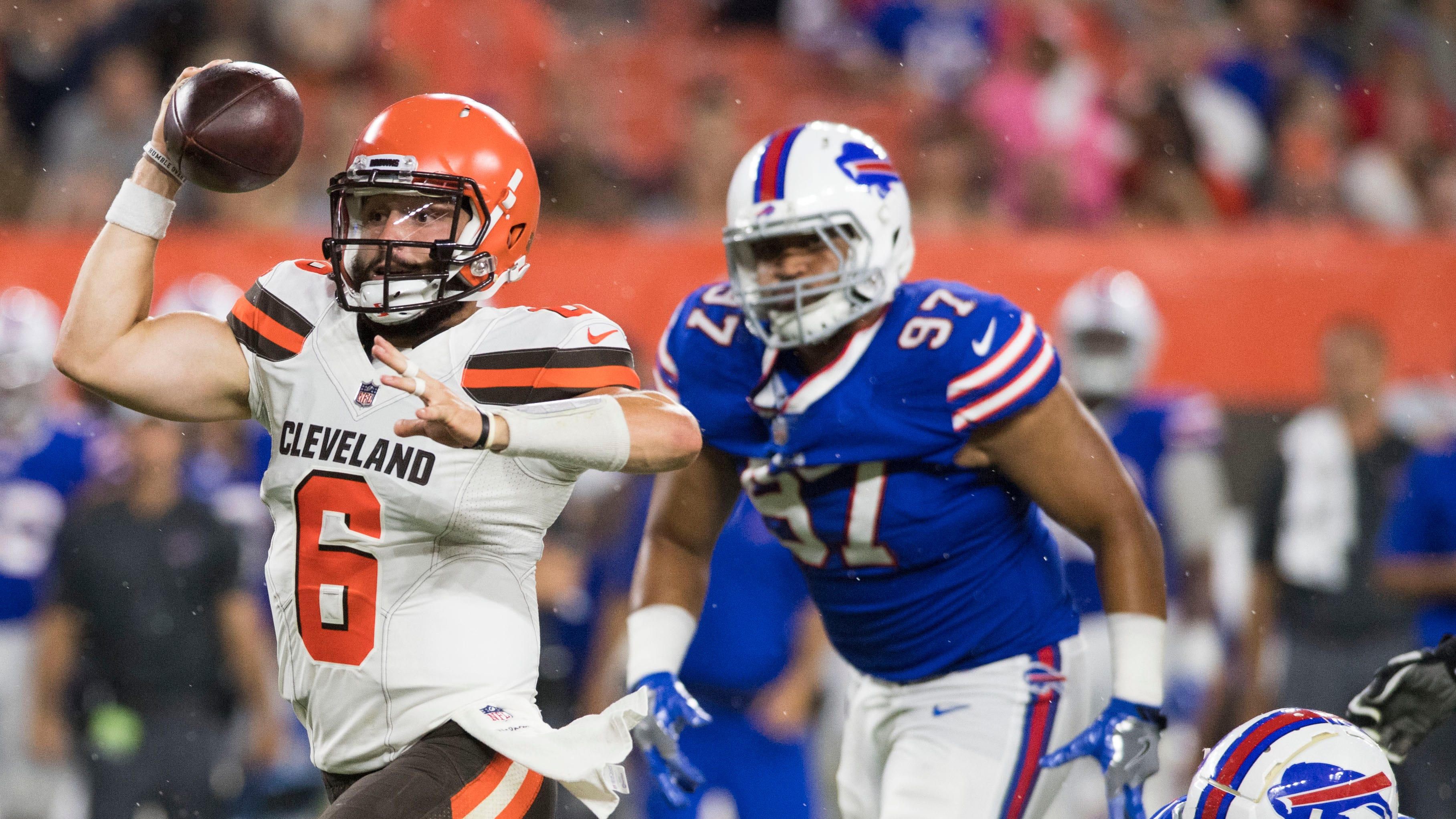 Baker Mayfield pushes past slow start in second preseason game with Browns