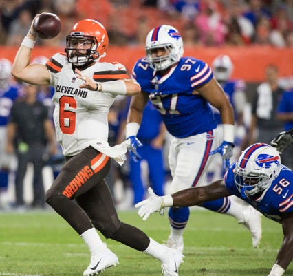 Image result for browns vs. bills preseason