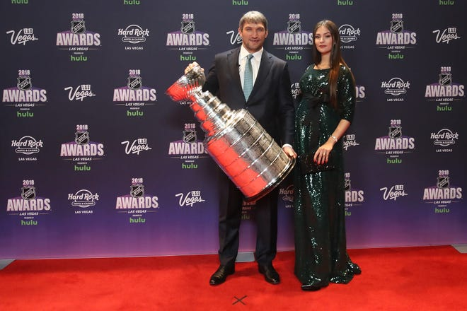Alex Ovechkin and his wife, Nastya Shubskaya will now get to hold their baby boy.