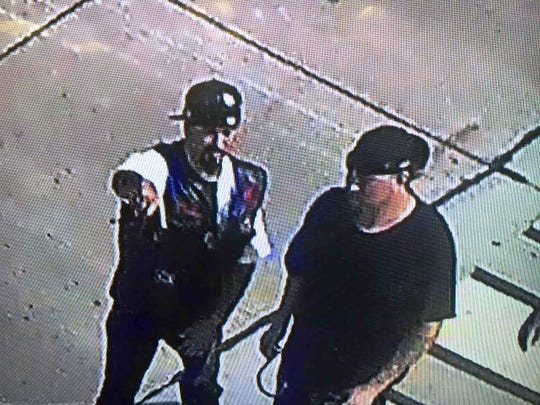 Appleton police want to question the men shown in this photograph.