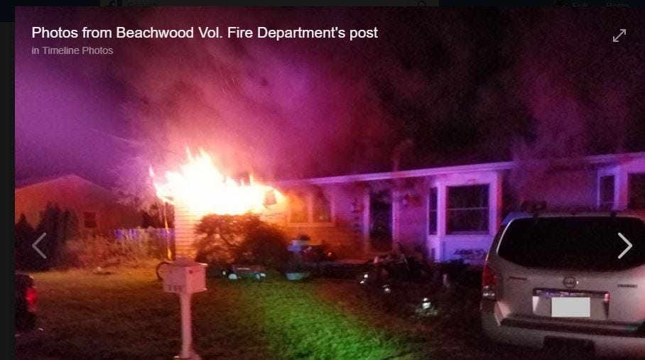 Pine Beach police officer loses home, family dog in Beachwood fire; K-9 partner also hurt