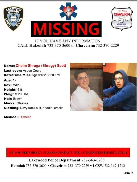 Missing Lakewood Teen