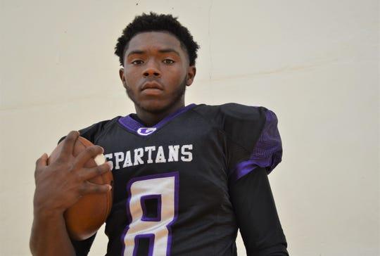 Lakeview quarterback/running back Jalen Watkins