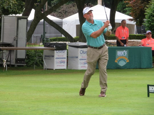 Marco Dawson of Merritt Island is a former British Senior Open champion.