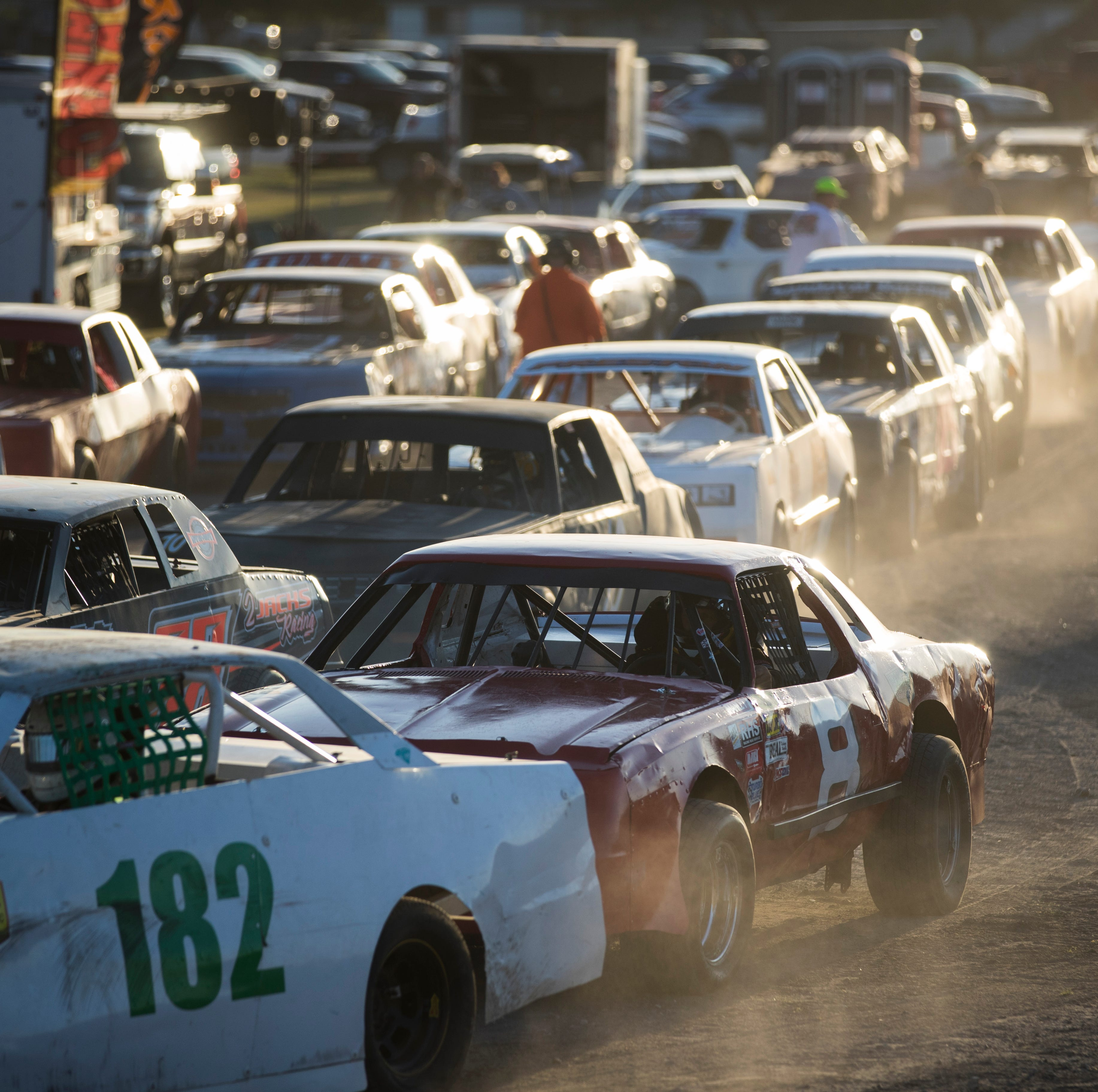 Race night at the South Texas Speedway