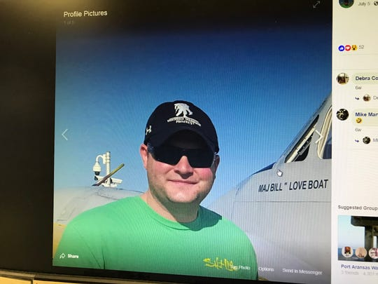 Nueces County Sheriffs Deputy Dustin White was killed in a motorcycle crash in Ingleside, according to Sheriff Jim Kaelin.