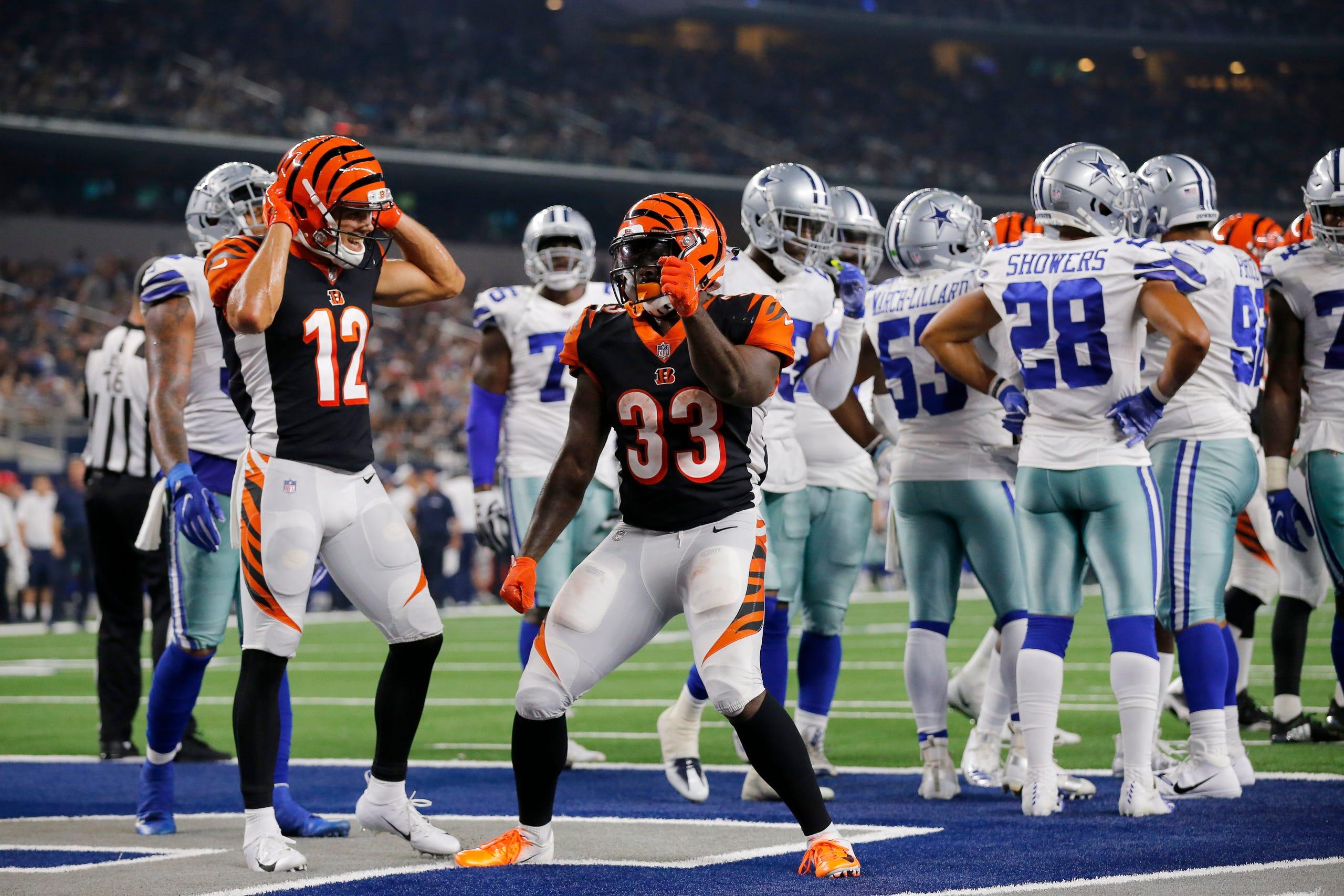 54ff65cf PRESEASON GALLERY: Cincinnati Bengals at Dallas Cowboys, Aug. 18