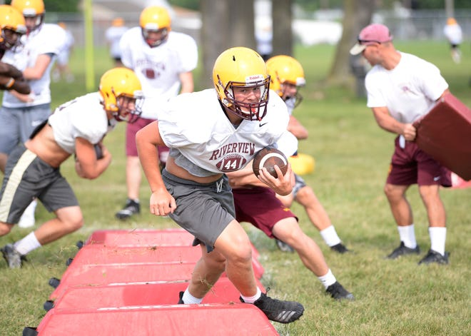 Kyle Naif returns to help Riverview attempt to repeat as Huron League champion.