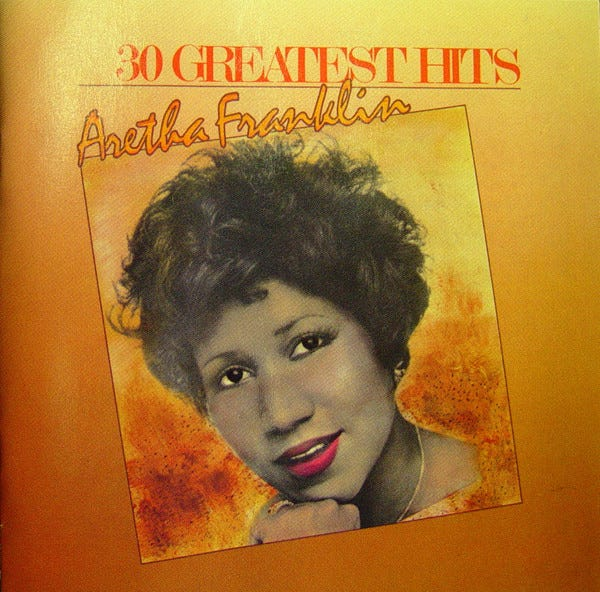 """Aretha Franklin's """"30 Greatest Hits"""" set lands at No. 7 on this week's Billboard 200 chart."""