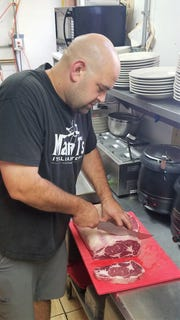 Brandon Acles is the chef and owner of Mama T's Italian Steakhouse in Huntingburg, Ind.