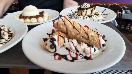 If you want to enjoy dessert at Mama T's, save room.
