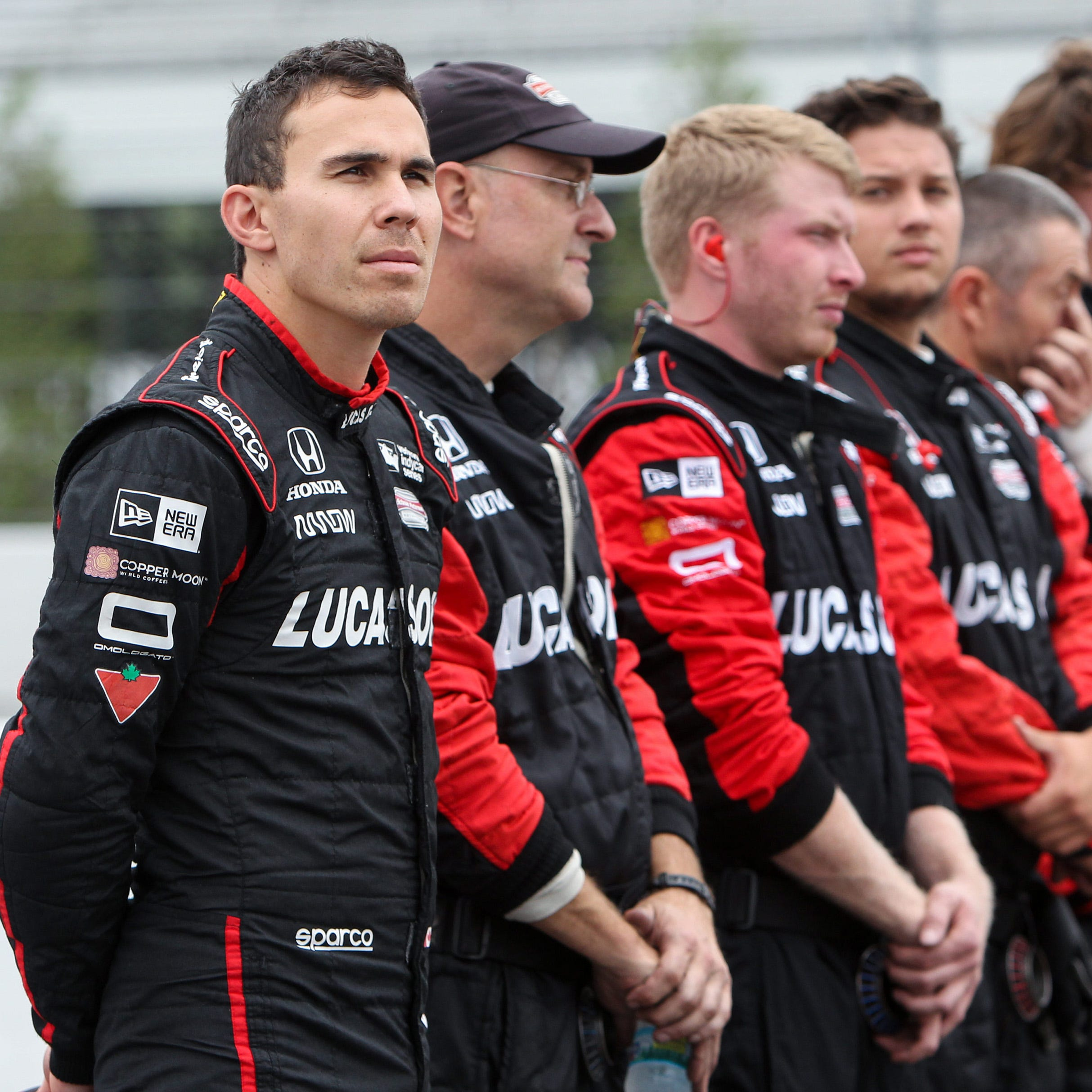 IndyCar driver Robert Wickens sent to hospital after violent early crash