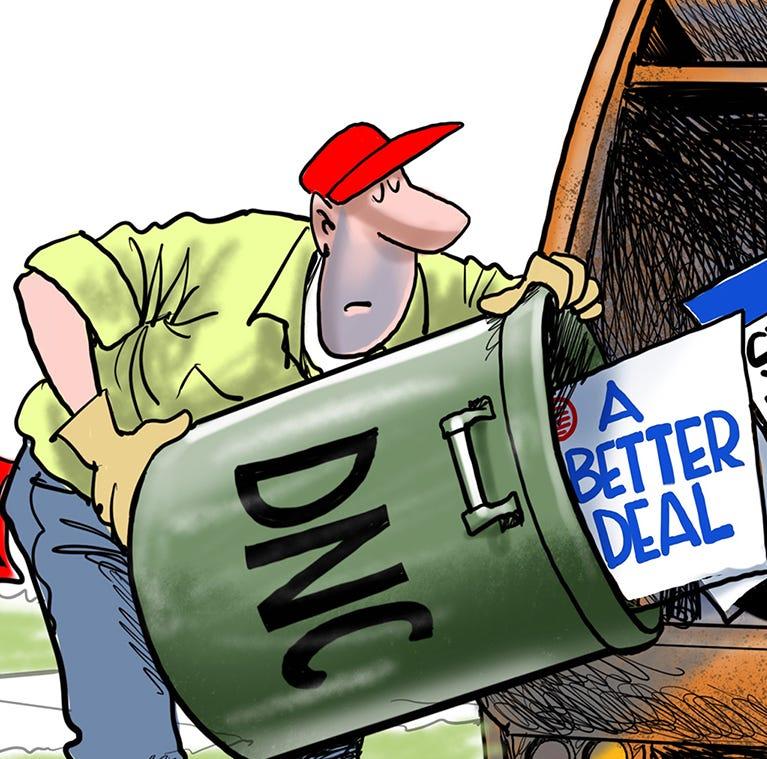 Cartoonist Gary Varvel: Campaign slogans