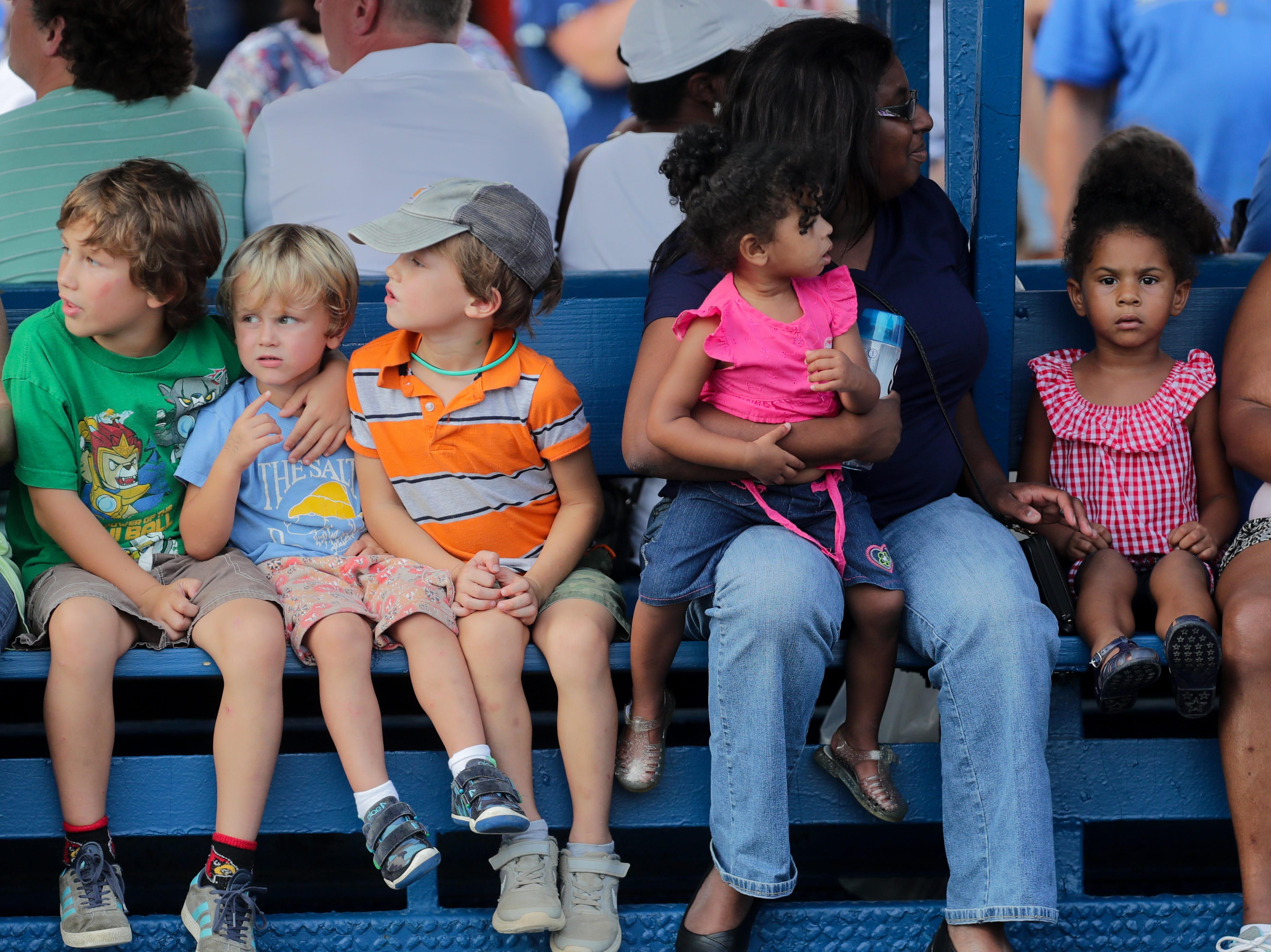 Scenes at the Kentucky State Fair.