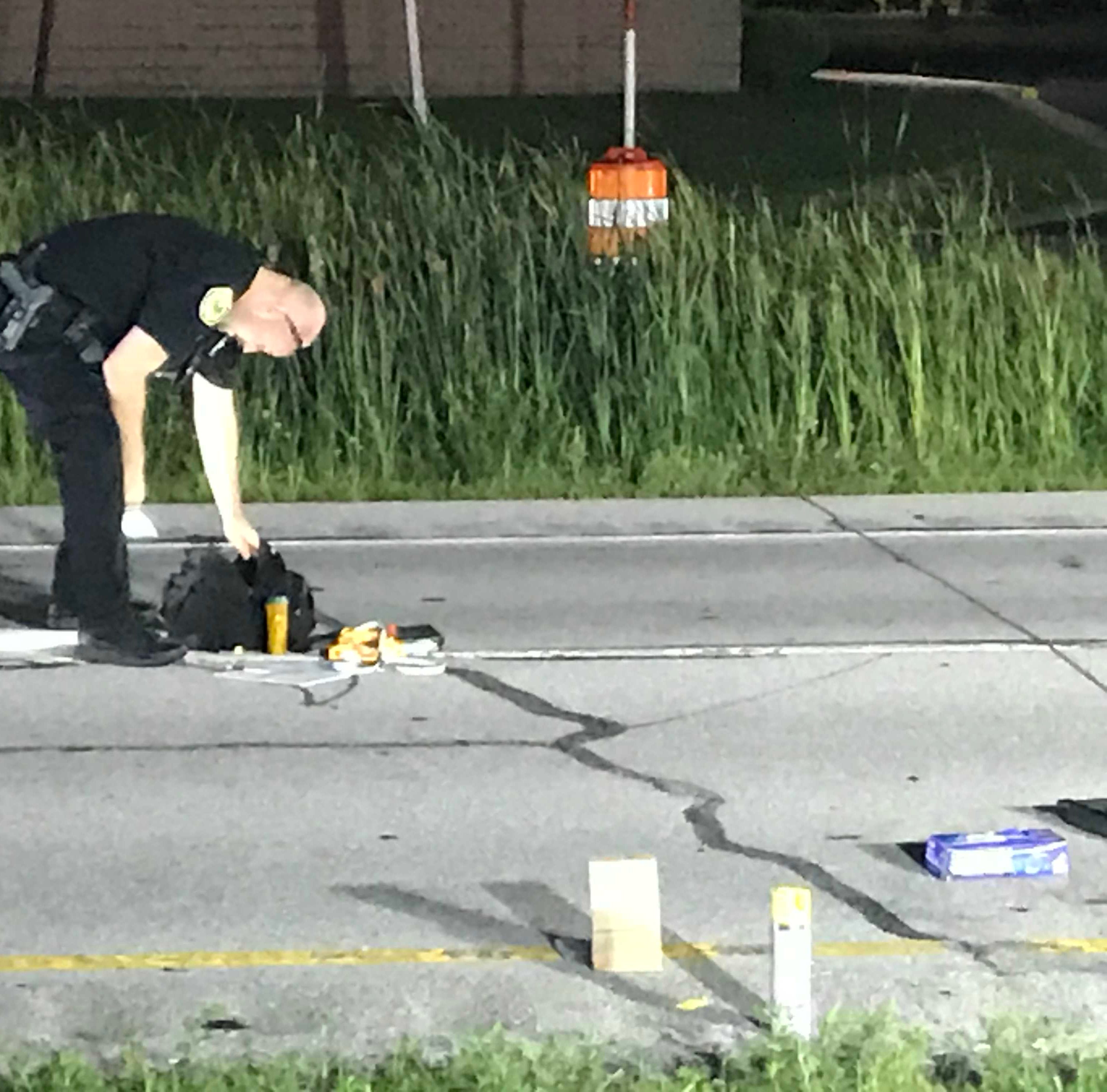 Teen struck, seriously injured by hit-and-run driver on McGalliard