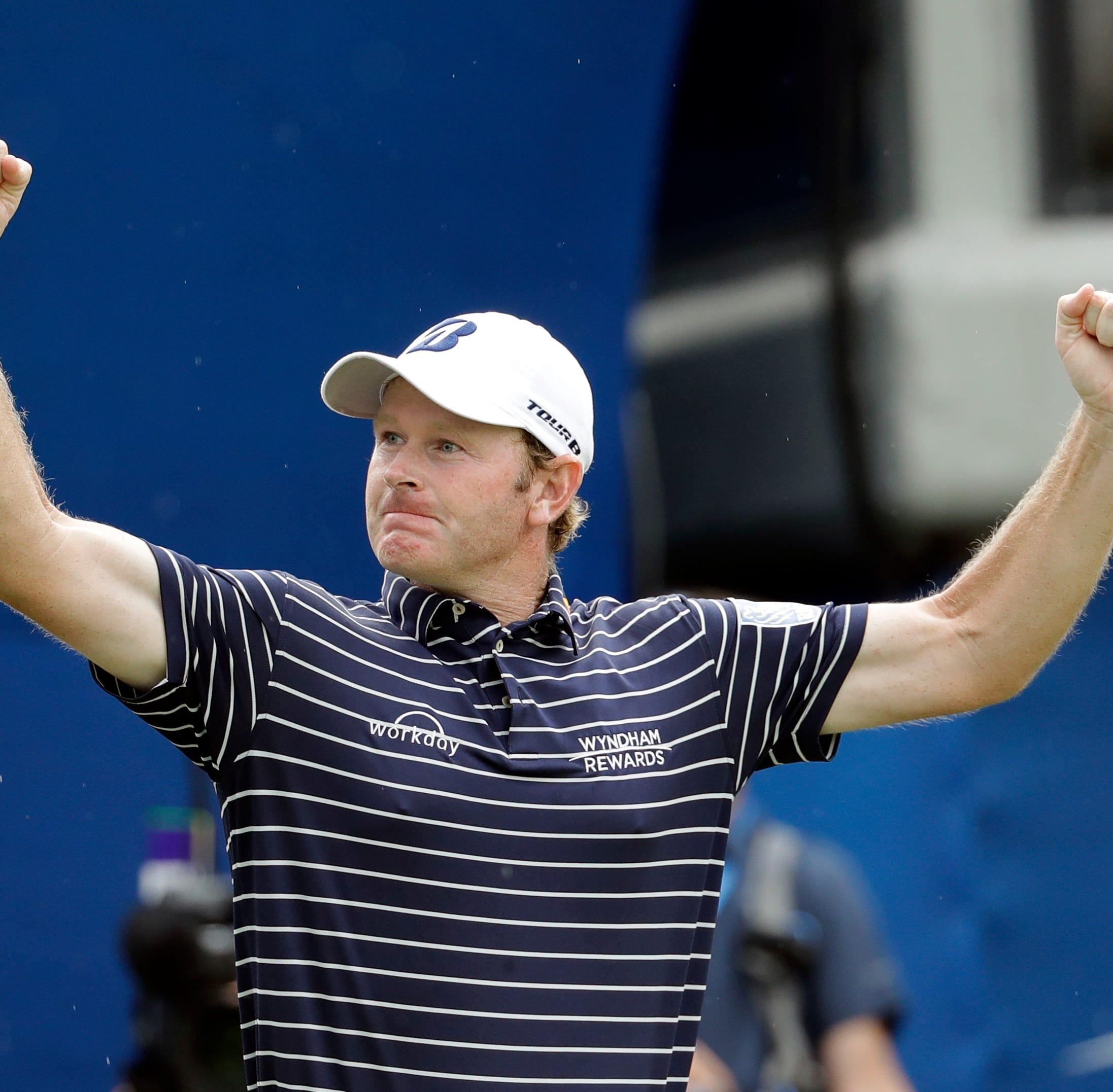 Brandt Snedeker wins Wyndham Championship