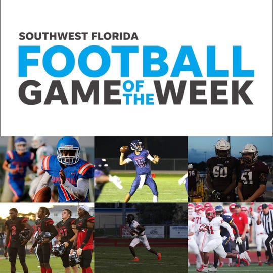 Week 1 Game of the Week collage