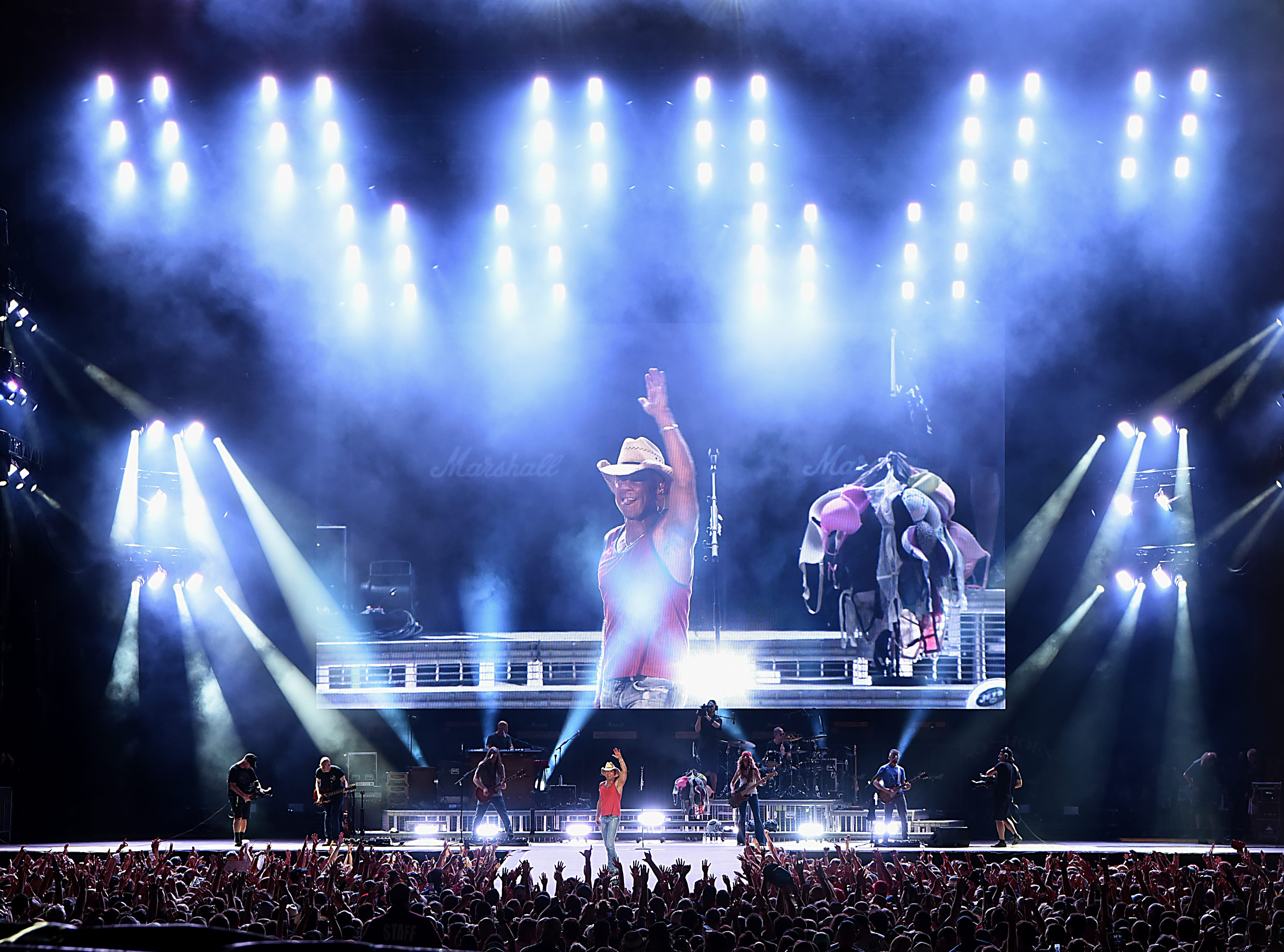 Kenny Chesney concert at MetLife stadium in East Rutherford on Saturday August 18, 2018.
