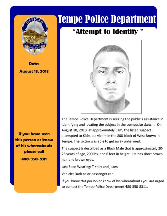 Tempe attempted kidnapping