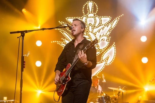 Jason Isbell performs at the Ryman Auditorium.