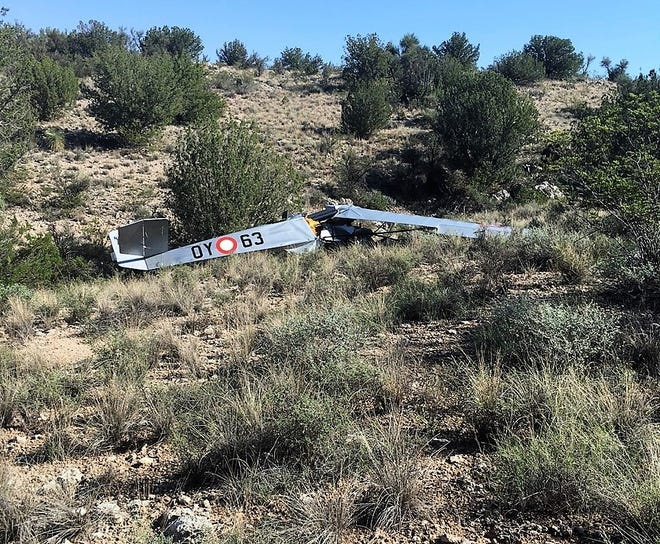 Glenn Tenniswood and Ron Walker were killed in a plane crash outside of Camp Verde on Aug. 18, 2018.