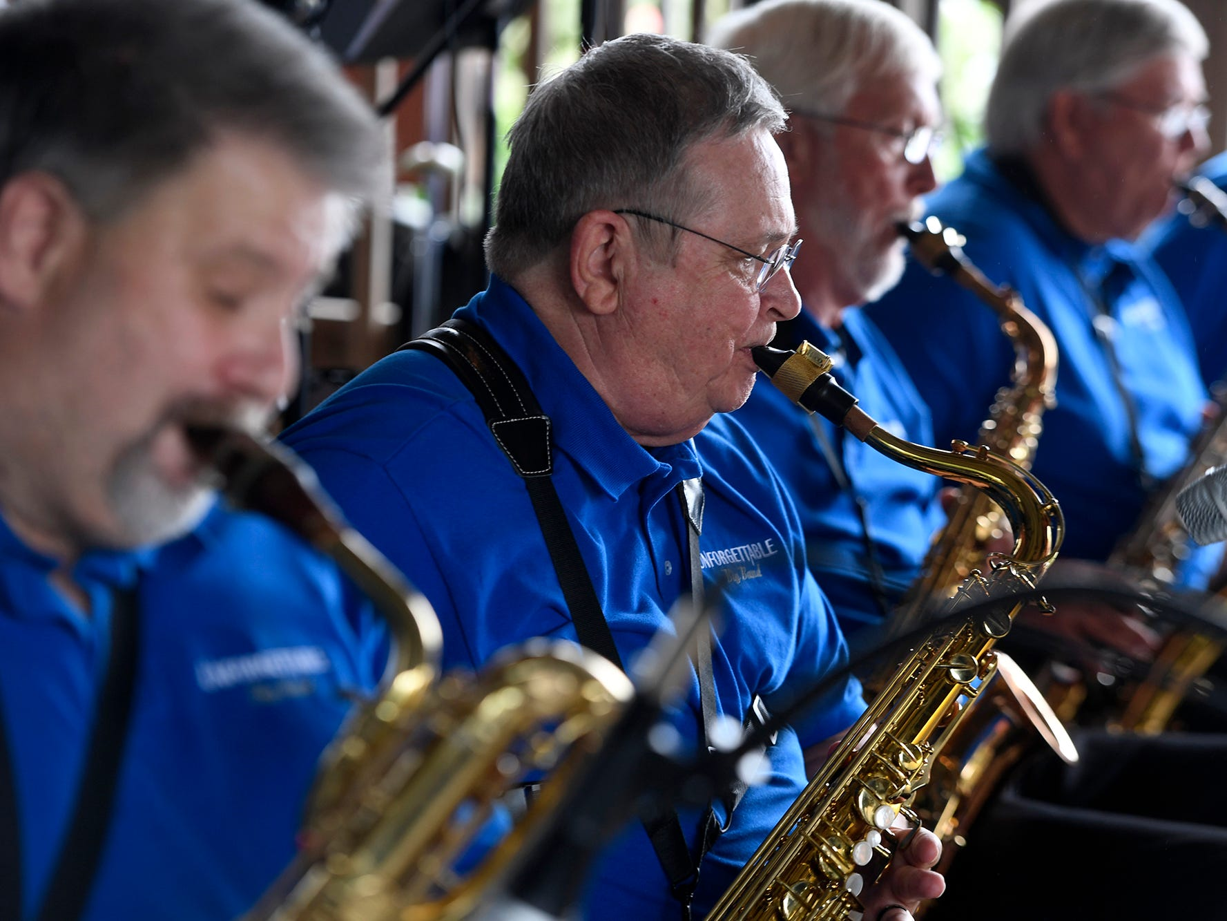 York's Unforgettable Big Band performs at Brown's Orchard & Farm Market, Sunday, August 18,  2018. John A. Pavoncello photo