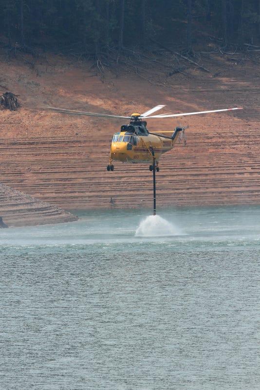 Hirz Fire at Lake Shasta