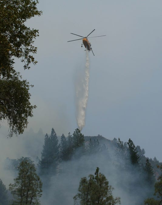 Hirz Fire at Lake Shasta